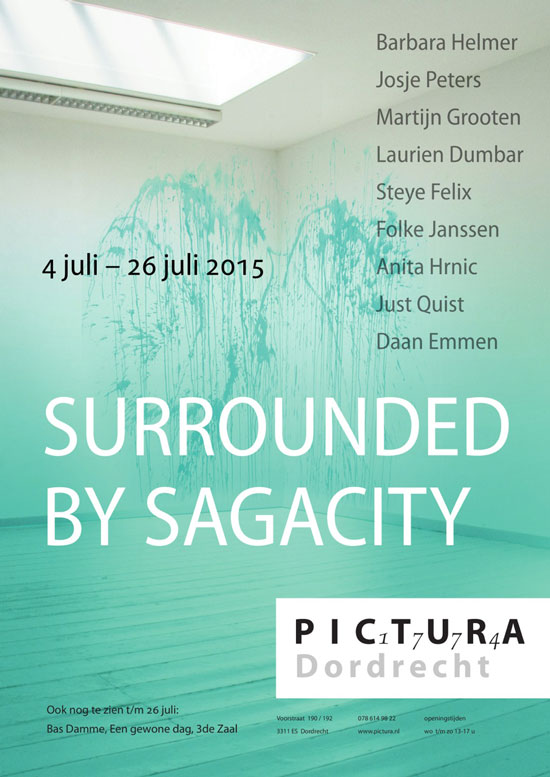 Uitnodiging expositie Surrounded by Sagacity